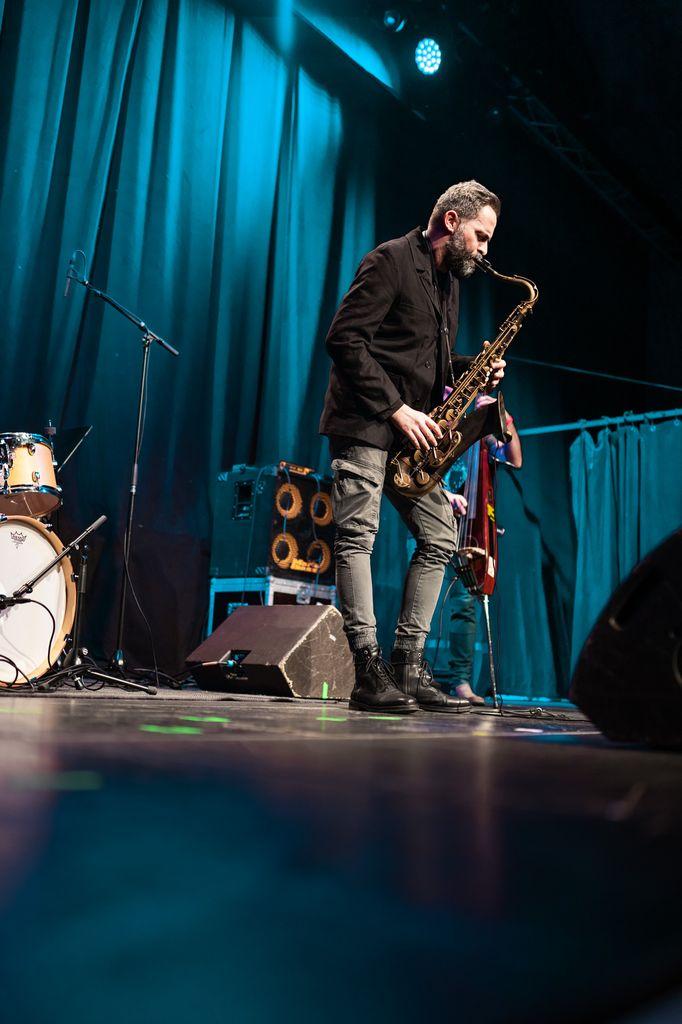 Ulrich Drechsler @ Jazz Redoute Graz / JBBG, Foto Simon Pilshofer